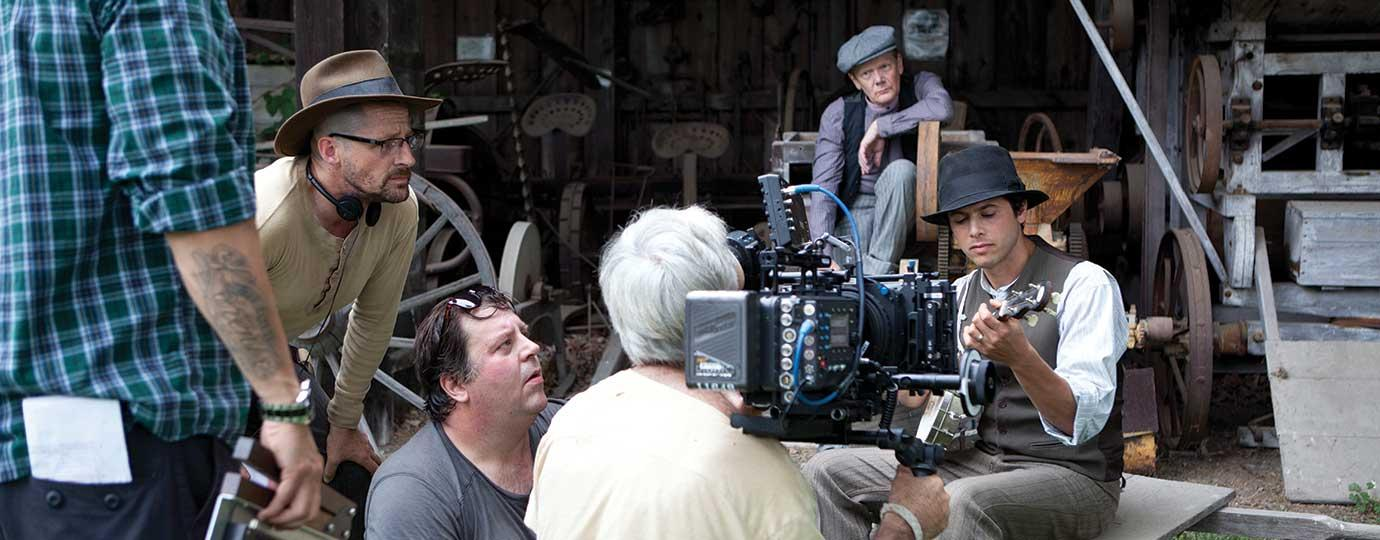 On the Film Set